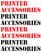 Printertilbehør til Blæk og Laser Printer